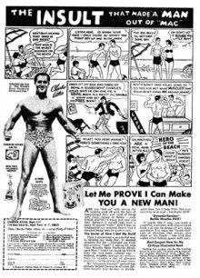 Charles Atlas advert