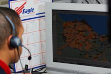 Eagle Couriers operator