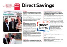 PR case study on successful public relations campaign for Direct Savings