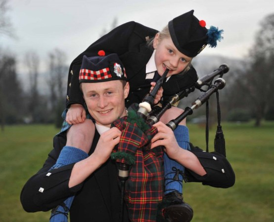 PR photography for school piping competition