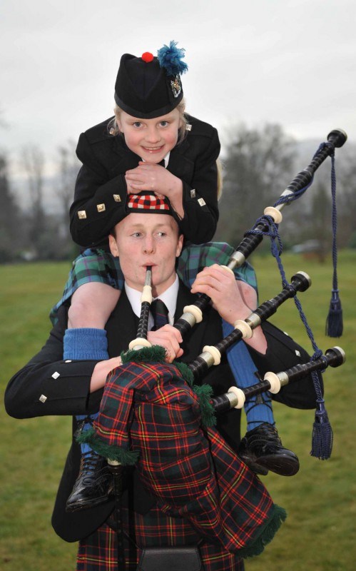 Public relations photo for Scottish School Pipe Band Championships