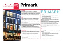 PR case study of Primark launch in Edinburgh, Scotland