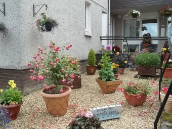 Thornhill garden praised in Keep Scotland Beautiful campaign