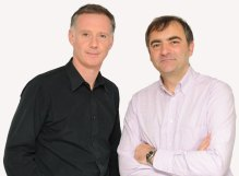 Holyrood PR Directors Scott Douglas and Raymond Notarangelo