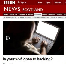 BBC Online 'Warbiking' Coverage