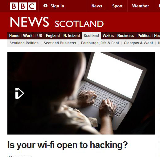 BBC Online 'Warbiking' Coverage