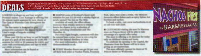 17 AUG Edinburgh Evening News PG 18 FULL PAGE