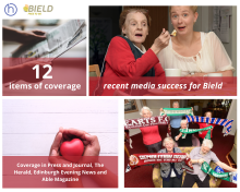 social care PR photography Bield 2013 success post graphic