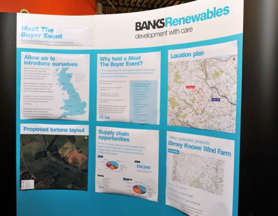 Banks Renewables uses Edinburgh PR agency for public relations photography