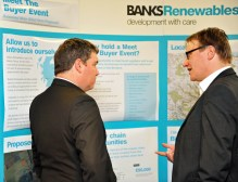 When Banks Renewables held a public exhibition, PR agency Holyrood PR organised the PR photography