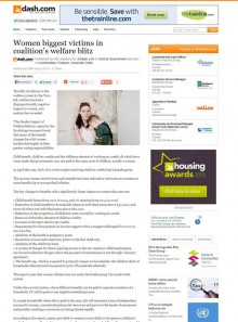 Women and Welfare Reform