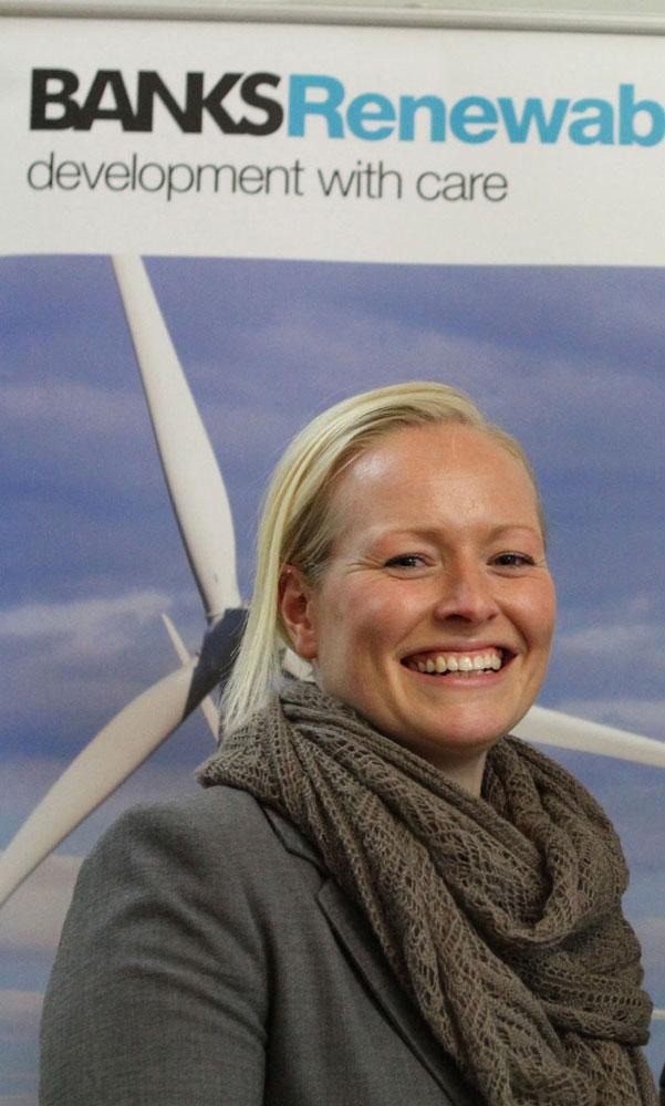 Emily Peaston of Natural Power