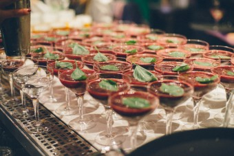 'Garden Garnish' Cocktails