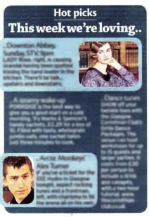 The Corinthian Club's dancing packages have been featured in the Daily Record