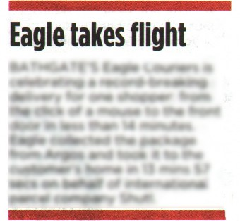 Eagle Couriers Coverage