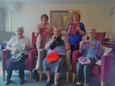 Residents at East Stewart Gardens are able to enjoy a new social initiative created by Bield and North Lanarkshire Council, The Sunshine Club