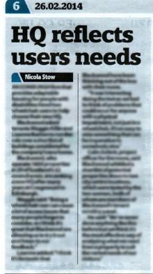 Blackwood HQ Road Test story in Edinburgh Now