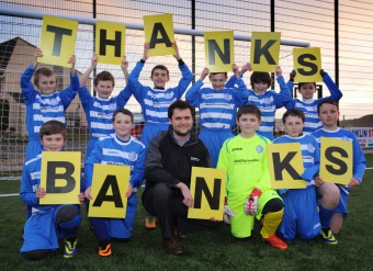 Young players say thanks to Banks Renewables