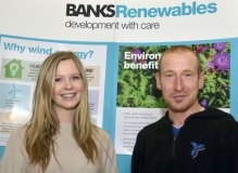 PR photography for Banks Renewables by Edinburgh PR agency Holyrood PR
