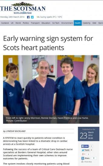 Scotsman online coverage