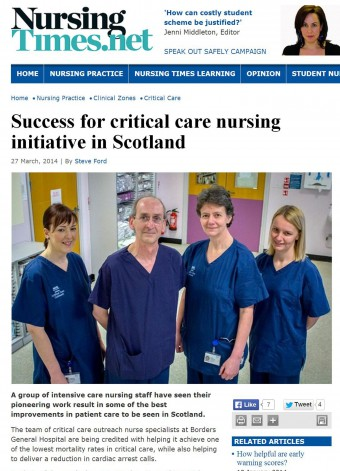 27 MAR The Nursing Times Online