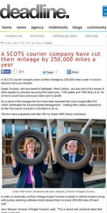 Edinburgh public relations agency delivers successful PR campaign