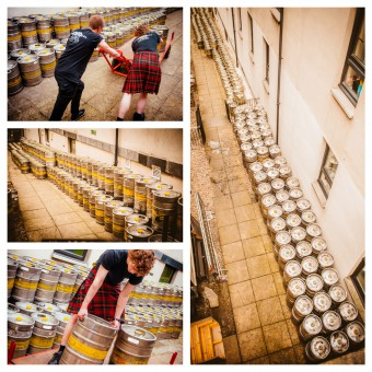 St Patrick's Day at The Three Sisters- Keg delivery