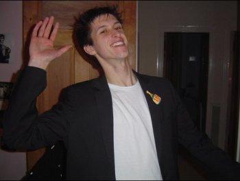 Craig celebrating his 18th birthday