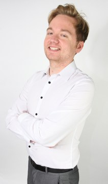 Public rleations agency account executive Ross Stebbing