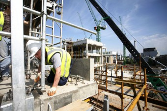 Fountainbridge Building site