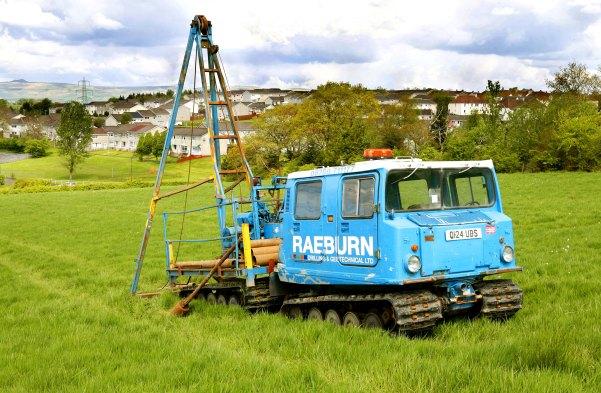 Glenboig Site investigation pictures