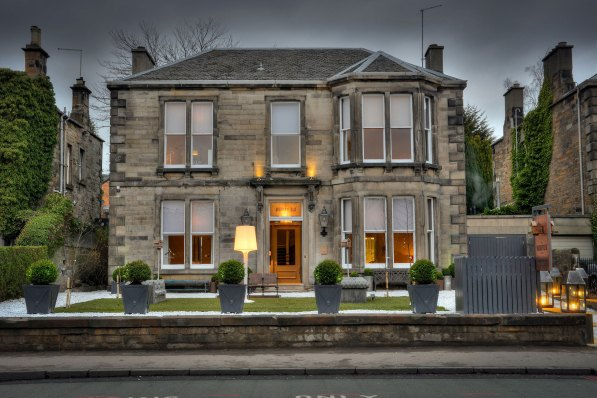 Exterior of The Murrayfield Hotel