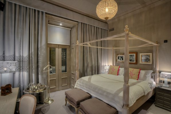 One of the luxury rooms available