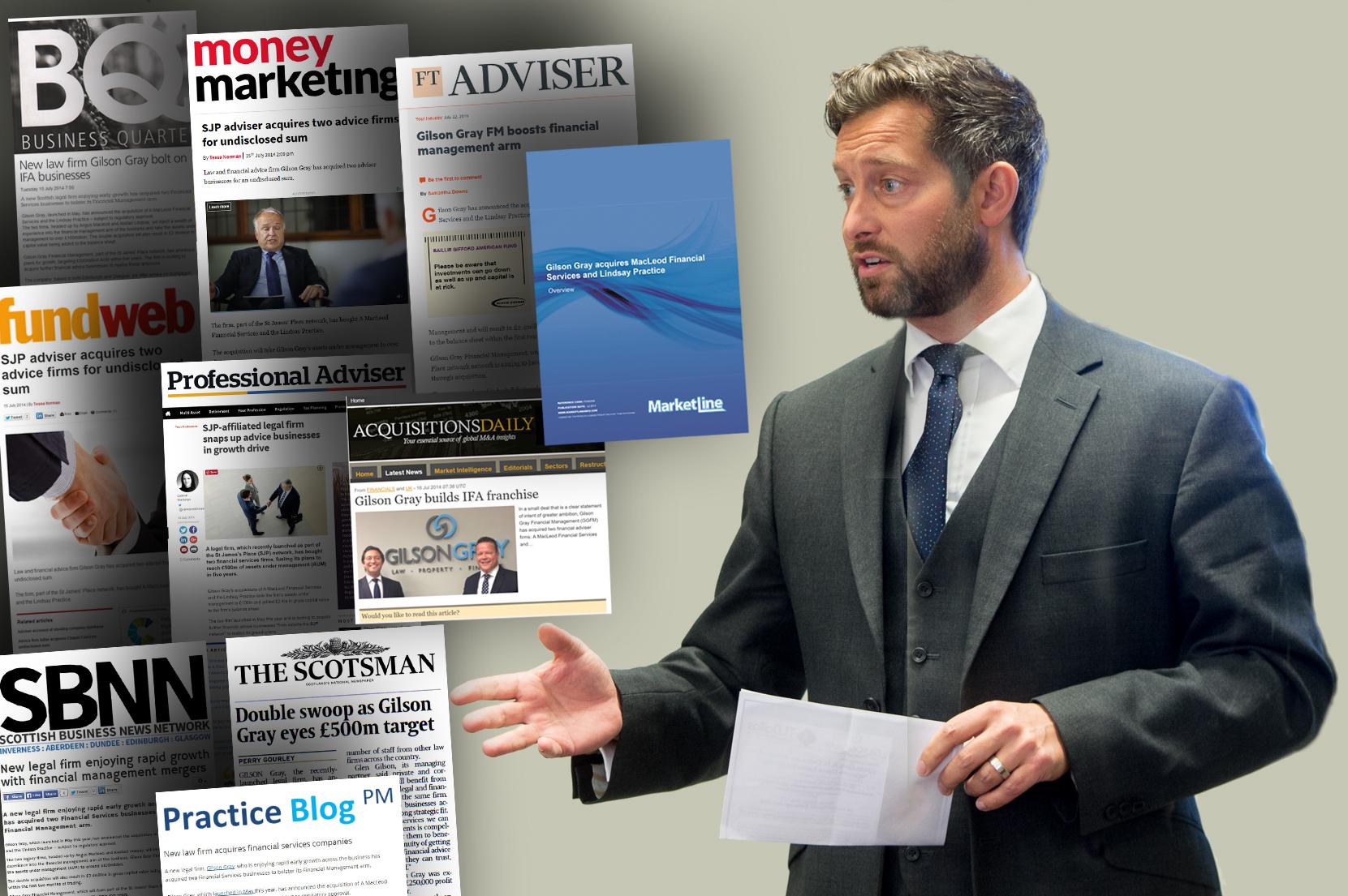 Gilson Gray mergers enjoy major legal PR success