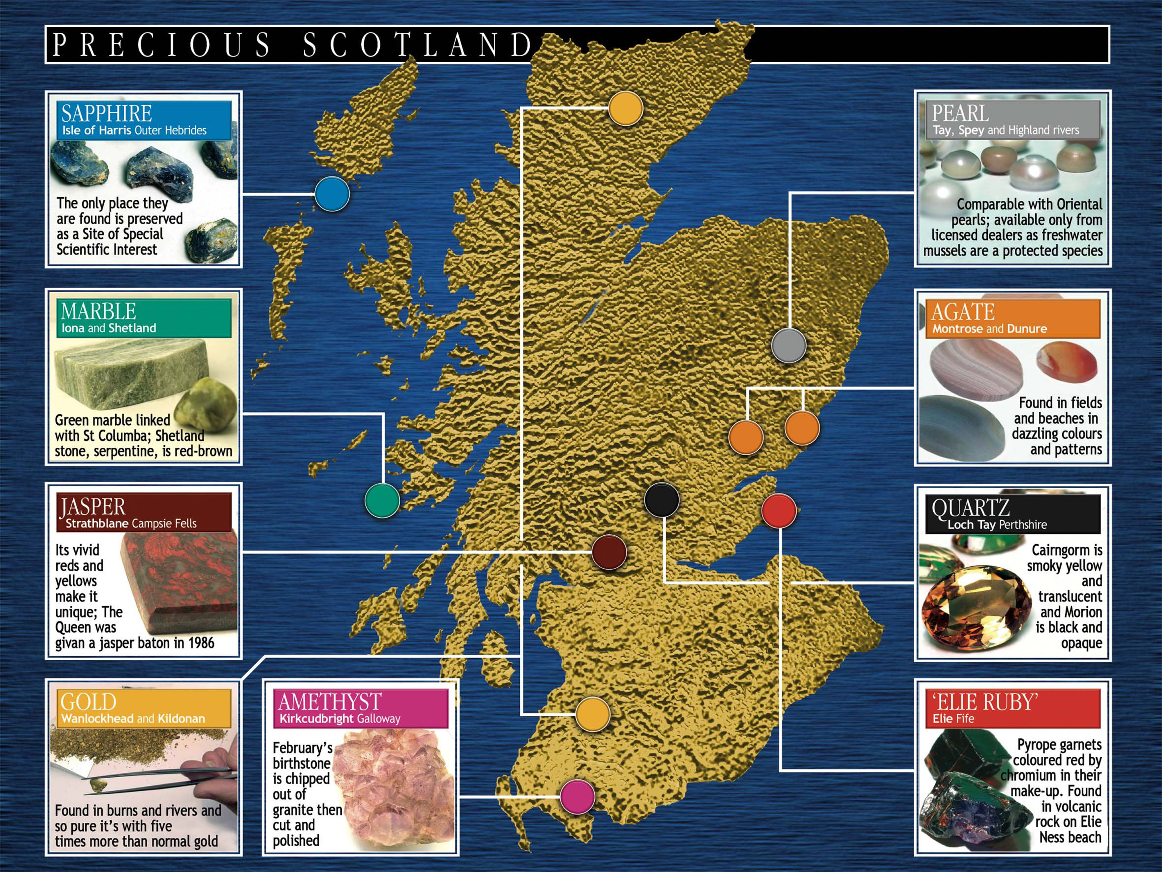 Jeweller Draws Up Unique Map of Precious Scotland with help of PR