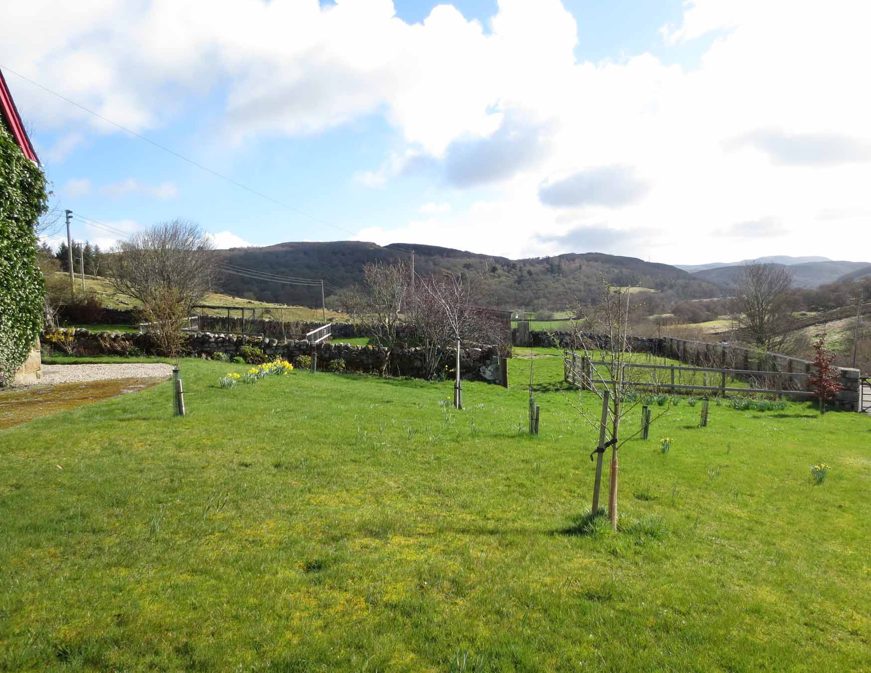 Blarich Schoolhouse - backgarden