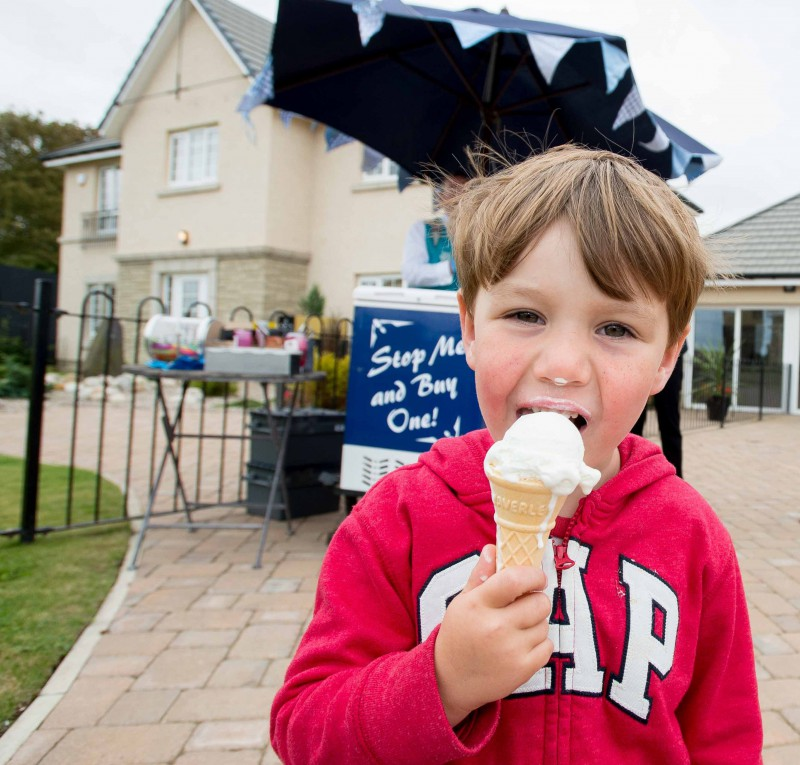 Edinburgh public relations agency Holyrood PR provides PR support, including PR photography, to CALA Homes