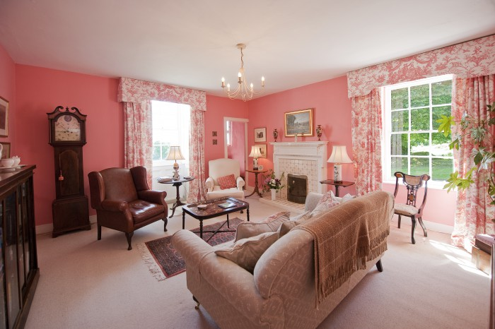 Dunmore house PINK SITTING ROOM SMALL
