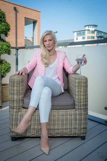 Public relations agency for Louise Linton, including PR photography