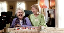 Care PR photography for Bield showing older people living independently