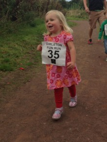 Dirleton Fun Run Kids Image