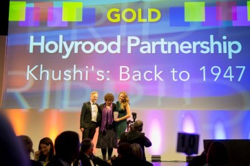 Scottish public relations agency Holyrood PR in Edinburgh, won five PR awards