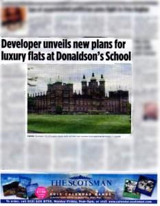 Donaldsons college in edinburgh evening news