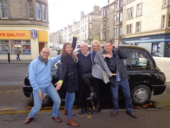 Black taxi challenge