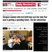 Daily record Bupa Pat coverage