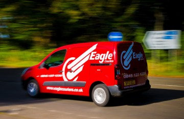 Public relations in Edinburgh for Eagle Couriers