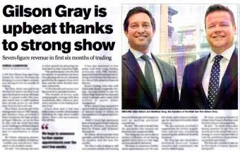 Edinburgh PR Agency help law firm dominate headlines