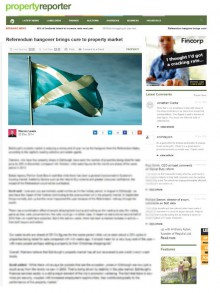 Edinburgh PR agency get great coverage for property solicitors