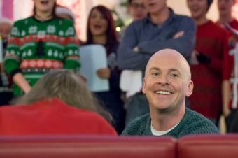 Lead actor, Brian McCann enjoying performing