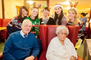 Edinburgh PR agency and care home residents enjoy performance from stars of West end Musical